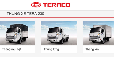 Thùng xe Tera 230