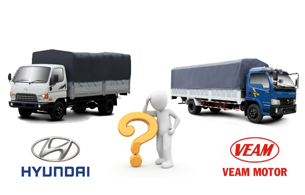 So sánh Veam Vt650 với Hyundai HD99
