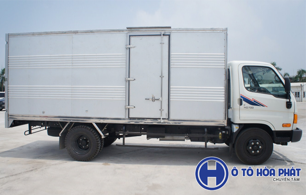 Xe tải Hyundai 7t Đồng Vàng