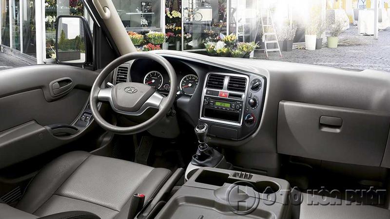 Không gian xe tải Hyundai 1t49 H150