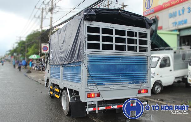 Xe tải Jac 1t25 thùng 3m4
