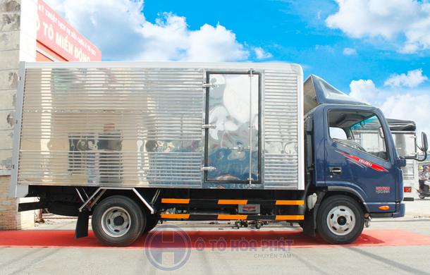 Xe tải Jac 2t4 thùng 4m3