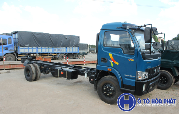 Xe tai veam vt650 6t5 may Nissan