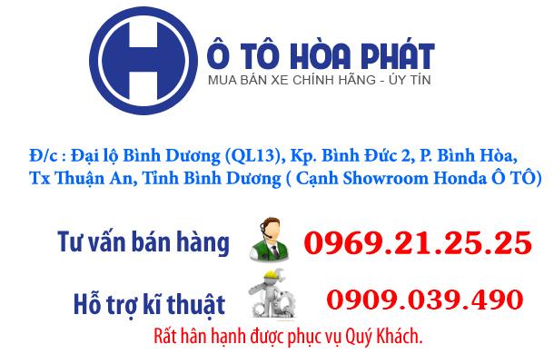 Thông tin liên hệ mua xe