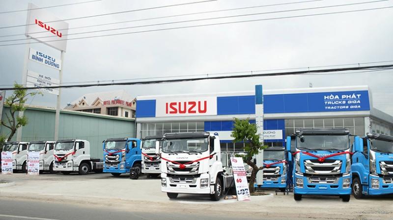 Đại lý Isuzu Giga nhập khẩu